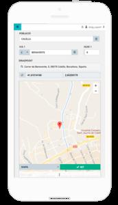 geolocalitzacio google maps